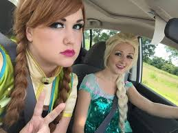 anna and elsa switched youtube