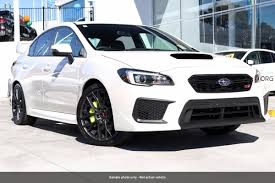 subaru white 2017 2017 subaru wrx sti v1 white for sale in docklands subaru