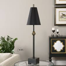 black buffet lamps lighting and ceiling fans
