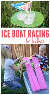toddler approved ice boat racing for toddlers