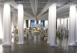 wedding draping fabric how to drape fabric on walls for a wedding fantastic decoration