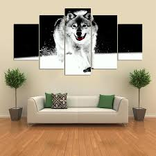 online get cheap canvas painting wolf panel aliexpress com