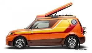 scion box car scion thrills with concept fr s targa turbo xb camper conversion