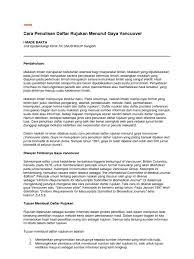 panduan penulisan daftar pustaka dari jurnal download cara penulisan daftar sumber rujukan vancouver docshare tips