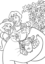 cartoon coloring pages aladdin cartoons coloring pages for kids printable free