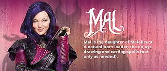 Mal Costume New Disney Store Deluxe Descendants Mal Costume Maleficent