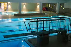 free stock photo of empty indoor swimming pool indoors