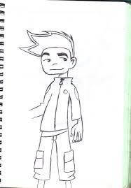 drawings american dragon kid by digitalsys on deviantart