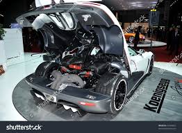 koenigsegg ccx engine geneva march 1 supercar koenigsegg agera stock photo 72429823