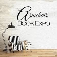 armchair book expo headquarters april 2017 grab our button