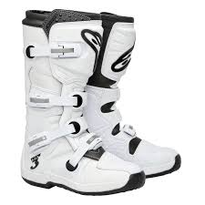 white motocross boots alpinestars tech 3 motocross boots super white motorcycle boots