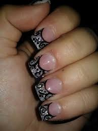 609 best nail art french tip images on pinterest make up nail