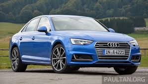 audi ah driven b9 audi a4 handsome suit inner