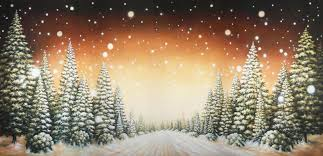 christmas photo backdrops christmas tree path b scenic stage backdrop rental theatreworld