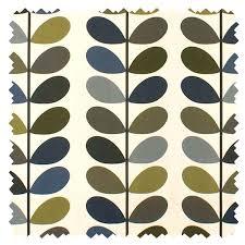 Orla Kiely Multi Stem Duvet Cover Orla Kiely Orla Kiely Multi Stem Moss Fabric Stock Fabrics