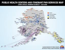 Map Of Juneau Alaska by Public Health Nursing Public Health Centers