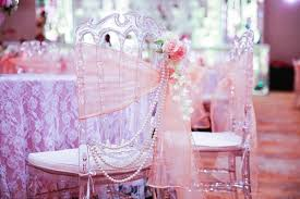 Chair Tie Backs Decor Delight A Dreamy Vintage Chic Wedding With Gorgeous