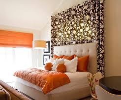 bed headboard decoration methods photos tips small design ideas bed headboard decoration methods photos tips orange bed with orange covering