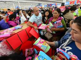 where will be more crowded on black friday walmart or target shooting over parking at fla walmart mars black friday