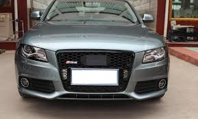 audi rs4 grill 08 12 a4 rs4 grille grid abs chromed s4 fog light grill for audi