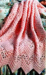lace afghan pattern pinteres