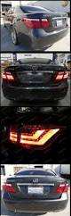 lexus sc300 license plate light 2007 2009 lexus ls460 red led tail lights