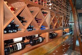 Cellar Ideas Sapele Mahogany Wooden Wine Racks Los Angeles Wine Cellar Design