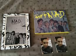 vertical photo album got7 mad mini album vol 4 horizontal vertical version