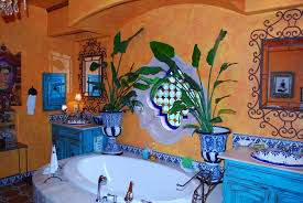 mexican tile bathroom ideas amazing mexican tile bathroom designs intended for bedroom
