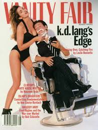 Vanity The 8th Wonder Vanity Fair Cover Cindy Crawford And K D Lang Pictures Getty