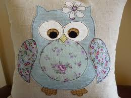 Space Cushion Definition Duck Egg Blue Owl Applique Cushion Applique Patterns Or