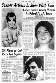 sharon tate and four others were killed in 1969 ny daily news