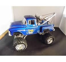 1 24 scale monster jam trucks 1 24 scale 1956 chevy 3100 step side monster truck wrecker w