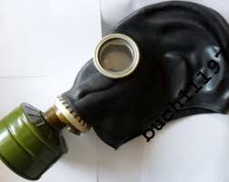 Gas Mask Costume Vintage Gas Mask Etsy