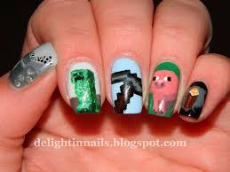 gamer nails skyrim youtube day to day nails gamer nails pac man