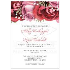 wedding invitations burgundy invitations burgundy pink