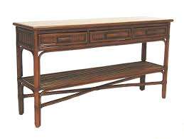 Rattan Console Table Fong Brothers Co Fb 3827 1 Console Table