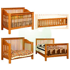 Baby Convertible Crib Mission 4 In 1 Convertible Baby Crib Made In Usa Baby Eco Trends