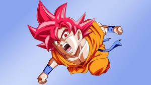 goku super saiyan god wallpapers wallpaper cave