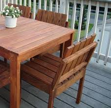 Plans For Wooden Patio Furniture by Ana White Simple Stackable Outdoor Chairs Diy Projects