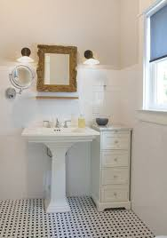 Bathroom Pedestal Sink Ideas Best 25 Pedestal Sink Bathroom Ideas On Pinterest Regarding
