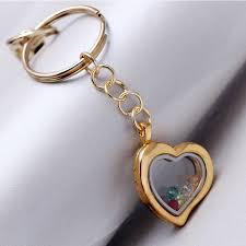 in memory of keychains new floating locket keychains 30mm living memory fur key chains