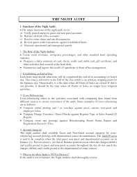 Auditor Sample Resume by Quality Control Clerk Cover Letter