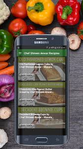 chef shireen anwar recipes hd android apps on google play