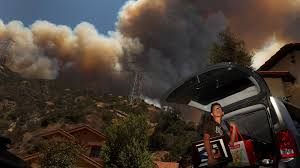 Wildfire Wedding Photos by I Started Packing And Panicking U0027 Residents Flee Monster Fires