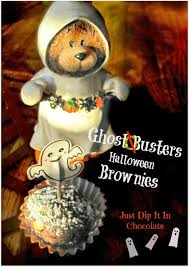 just dip it in chocolate ghostbusters halloween brownies recipe