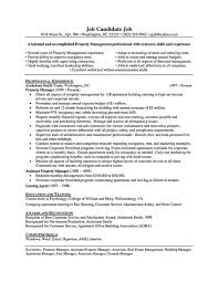 Sample Finance Manager Resume by Property Manager Resume Samples Free Resume Example And Writing