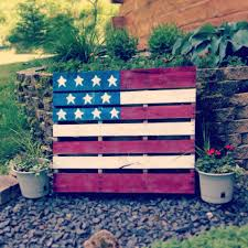 Paint Pallet by American Flag Pallet Spray Paint Paint Tape Cardboard Stencils