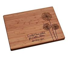 engravable cutting boards personalized cutting board s day dandelions