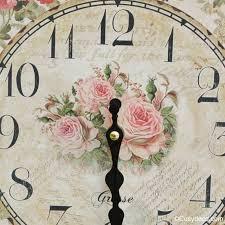 horloges cuisine horloge romantique style anglais horloges cuisine